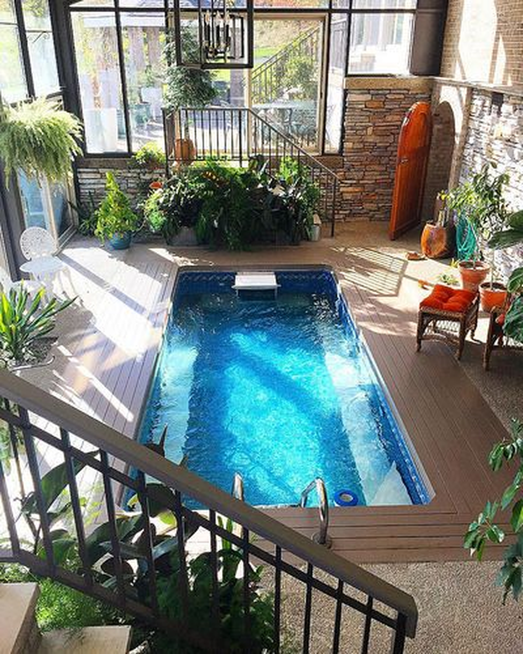 Lovely Small Indoor Pool Design Ideas 09