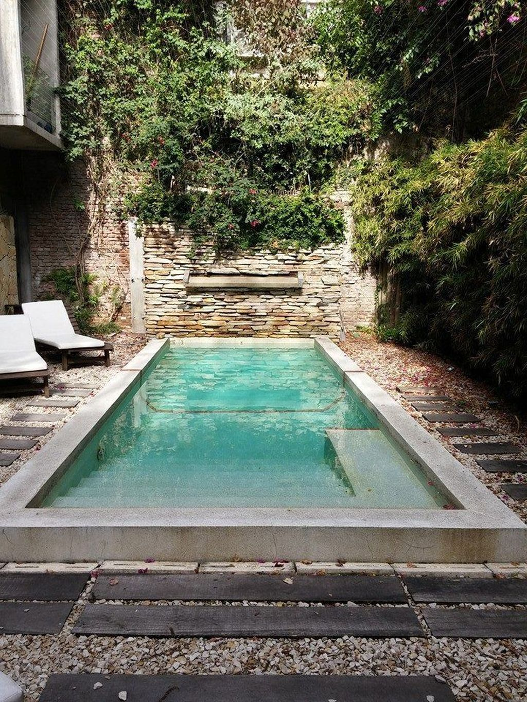 Lovely Small Indoor Pool Design Ideas 29