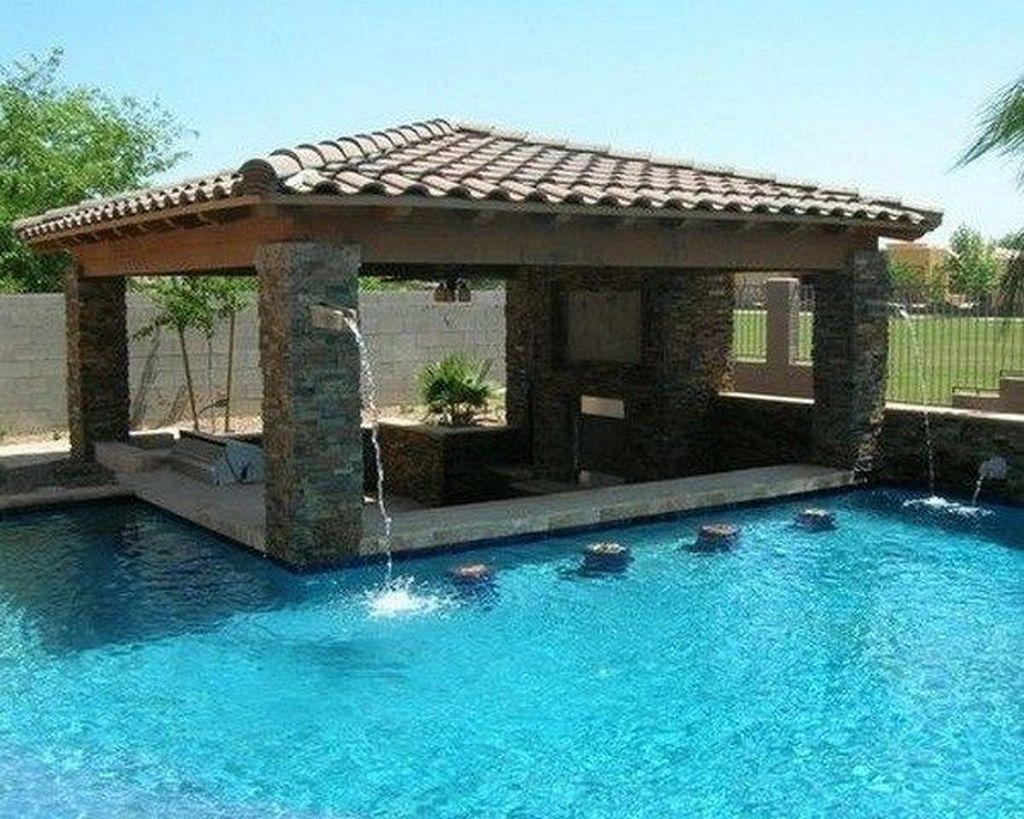 Popular Pool Design Ideas For Summertime 04