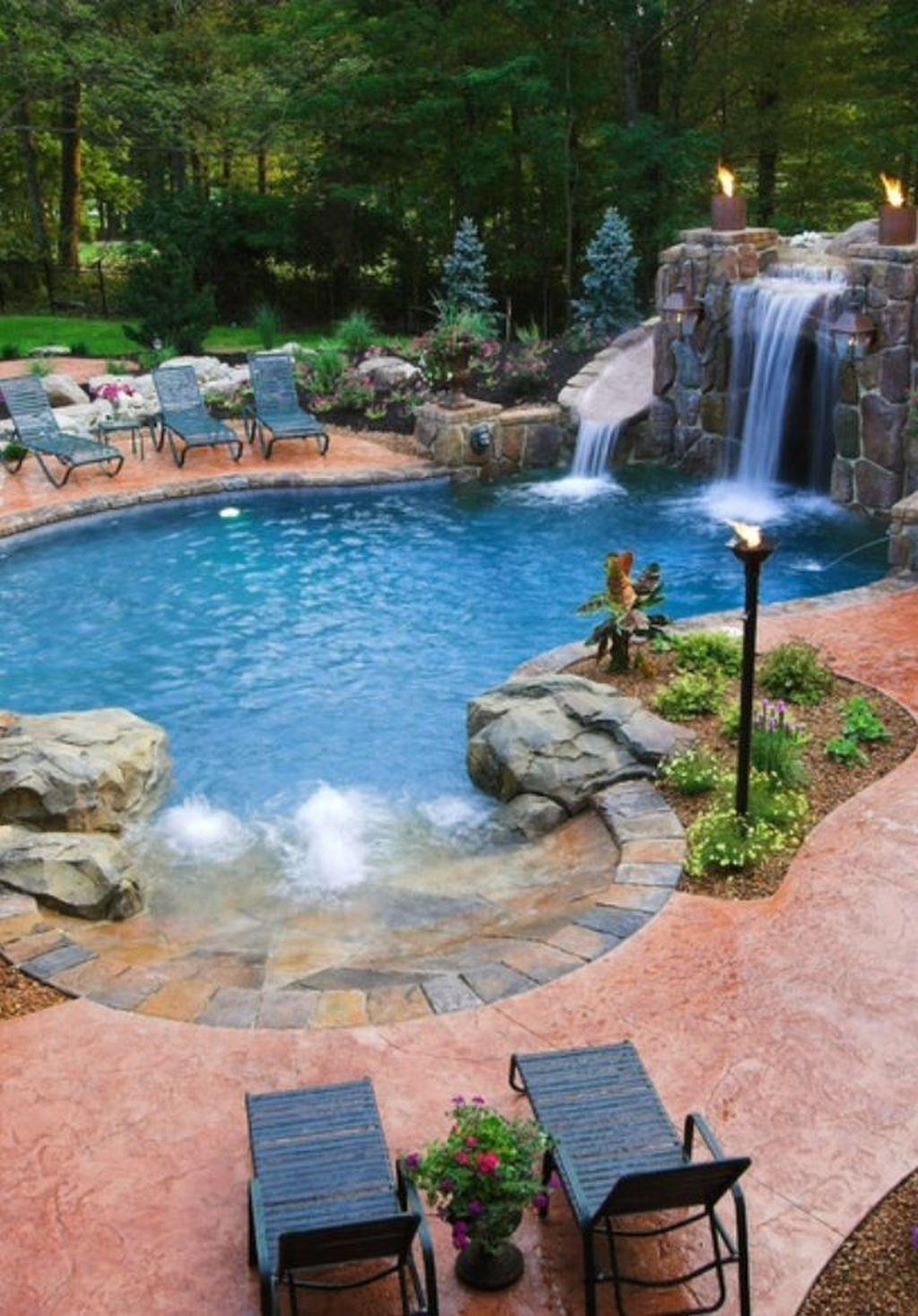 Popular Pool Design Ideas For Summertime 12