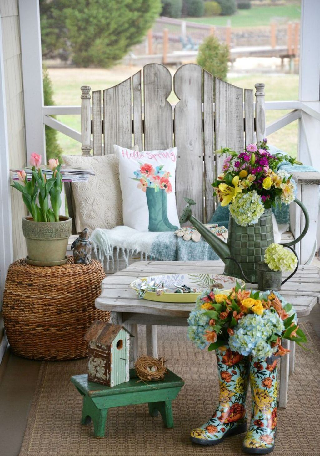 The Best Front Porch Ideas For Summer Decorating 09