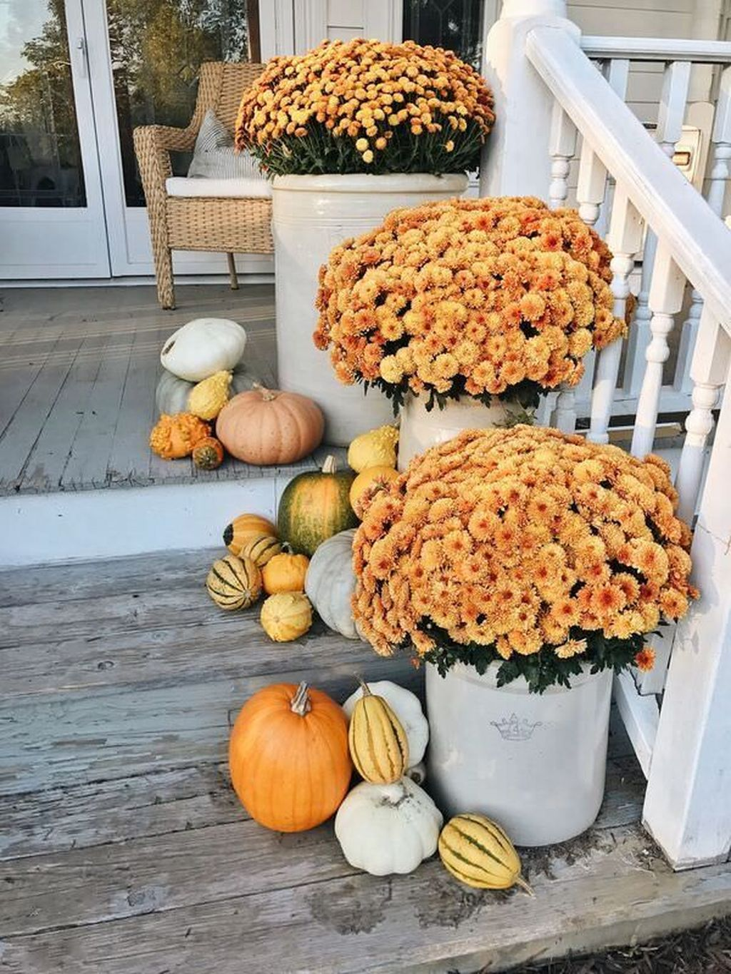 Amazing Fall Planter Ideas Best For Front Porches 05