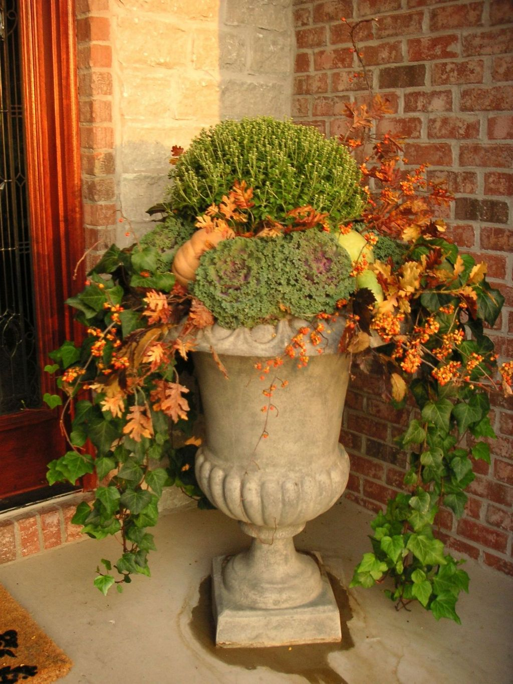 Amazing Fall Planter Ideas Best For Front Porches 07