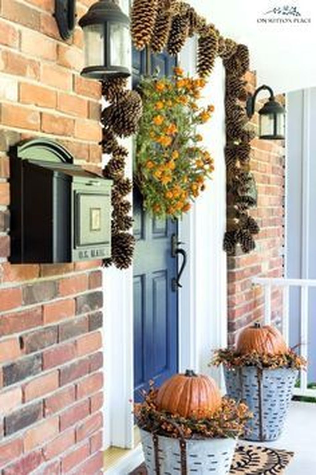Amazing Fall Planter Ideas Best For Front Porches 13