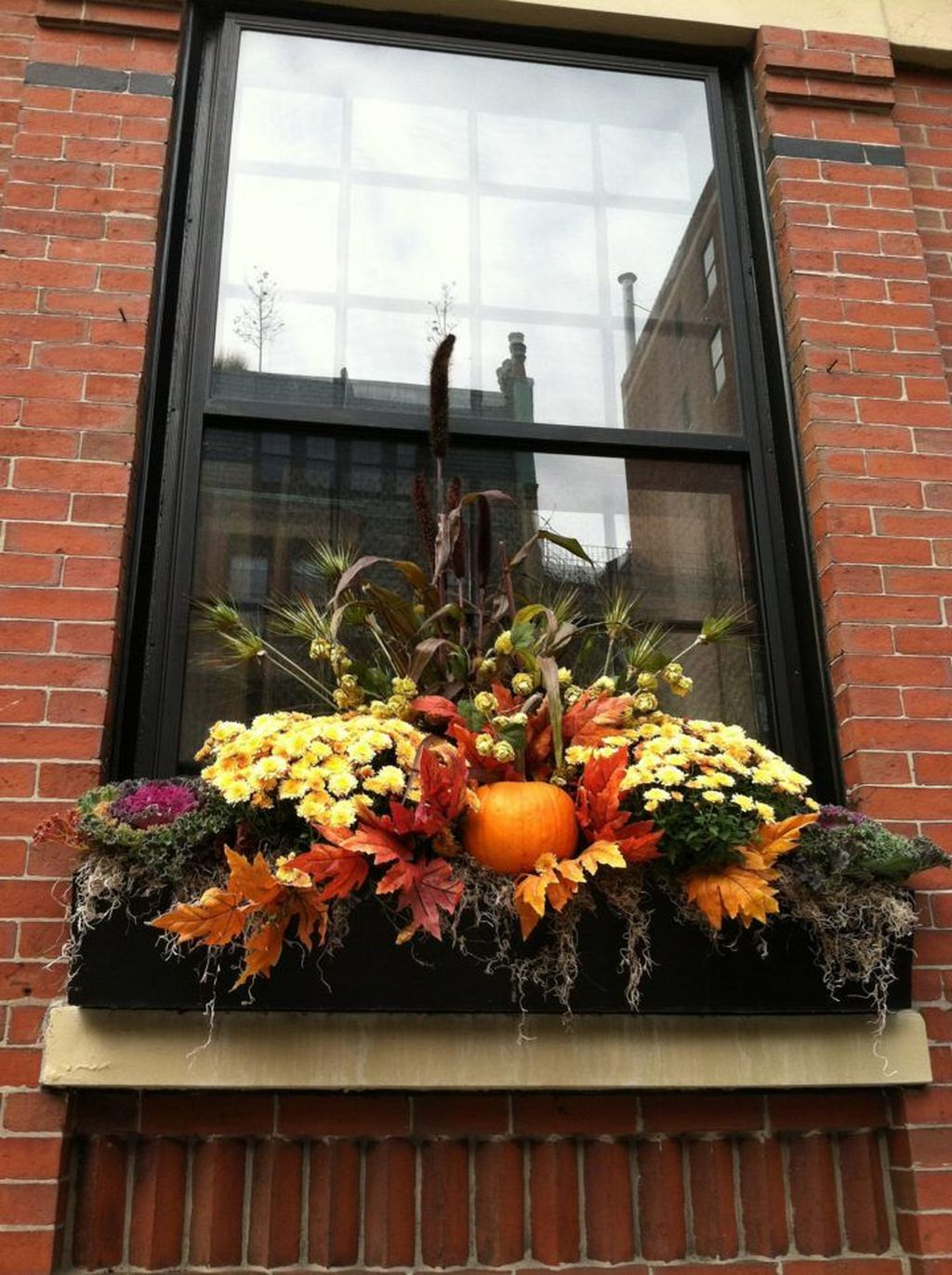 Amazing Fall Planter Ideas Best For Front Porches 16