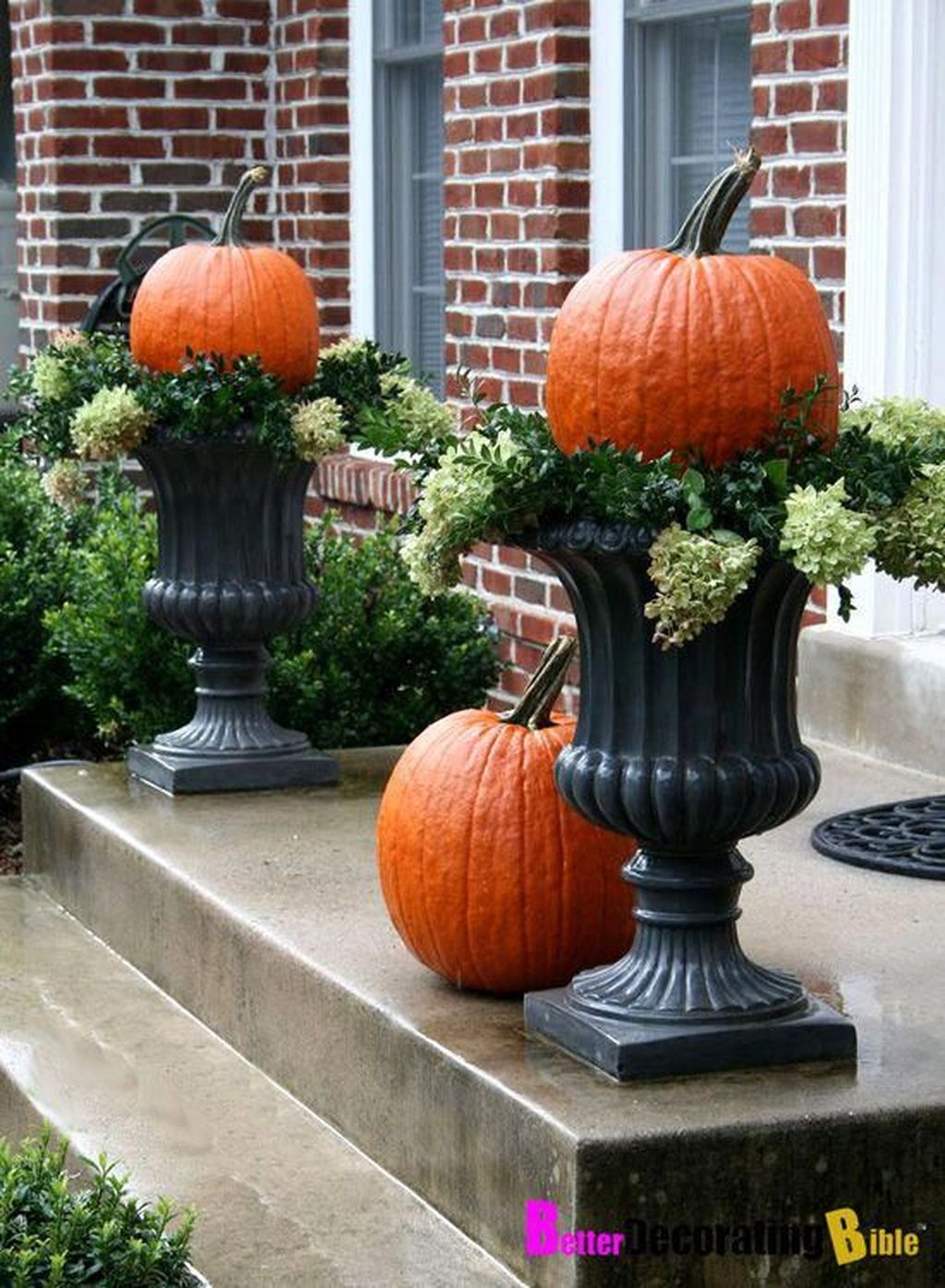 Amazing Fall Planter Ideas Best For Front Porches 17