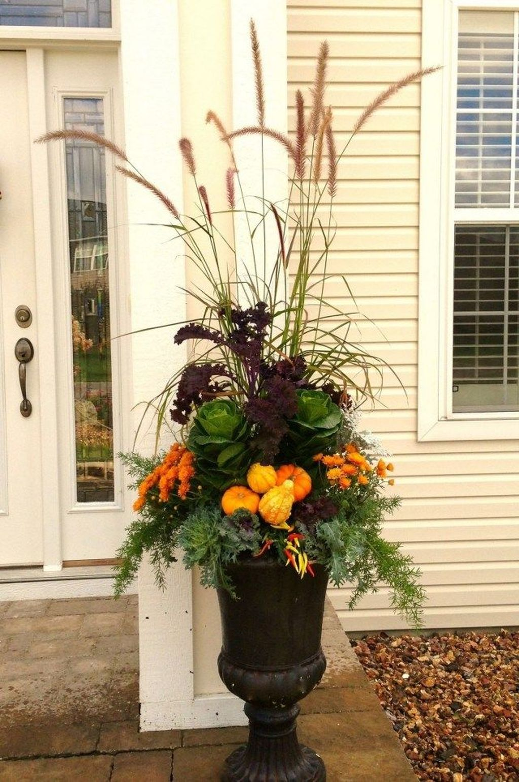 Amazing Fall Planter Ideas Best For Front Porches 20