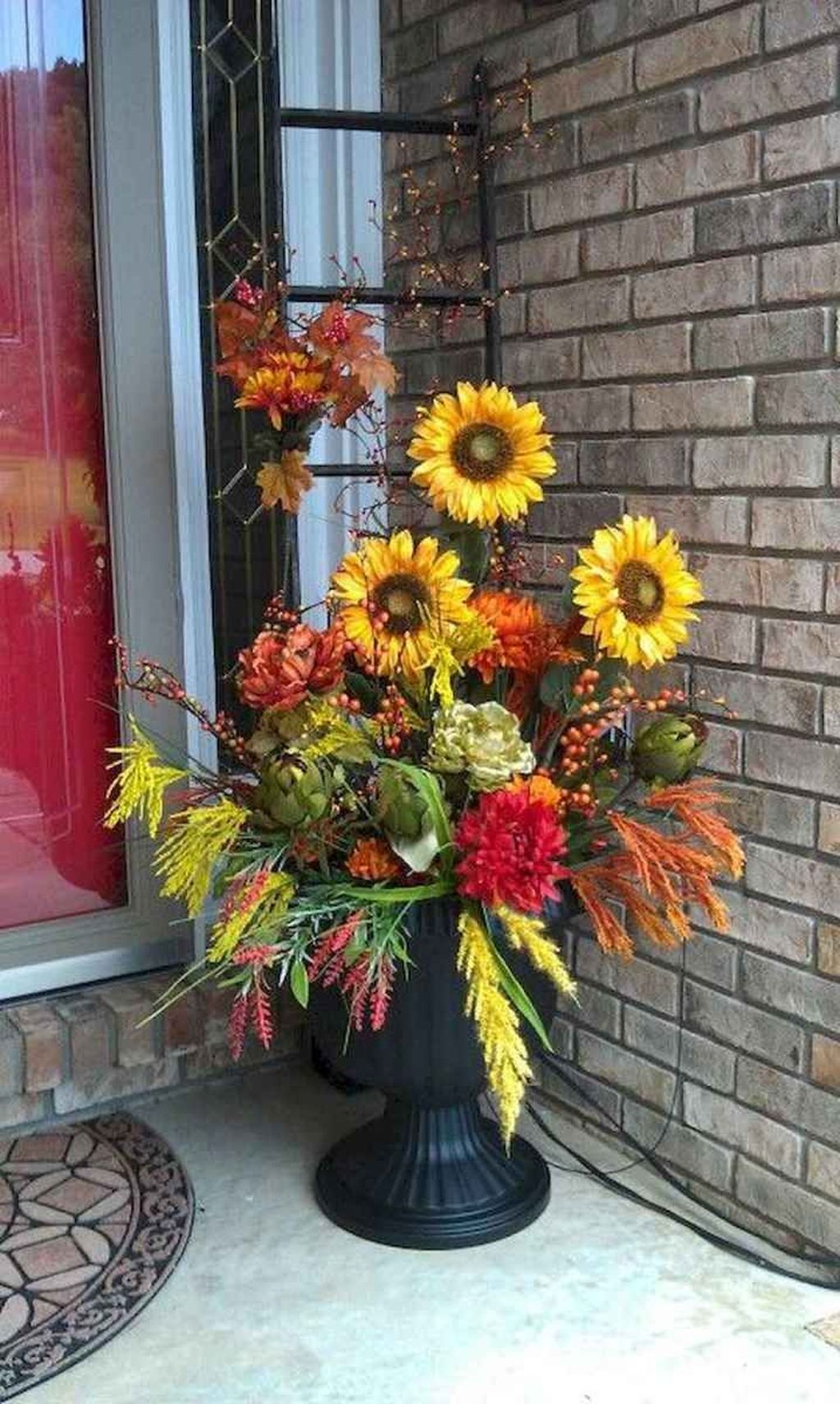 Amazing Fall Planter Ideas Best For Front Porches 24