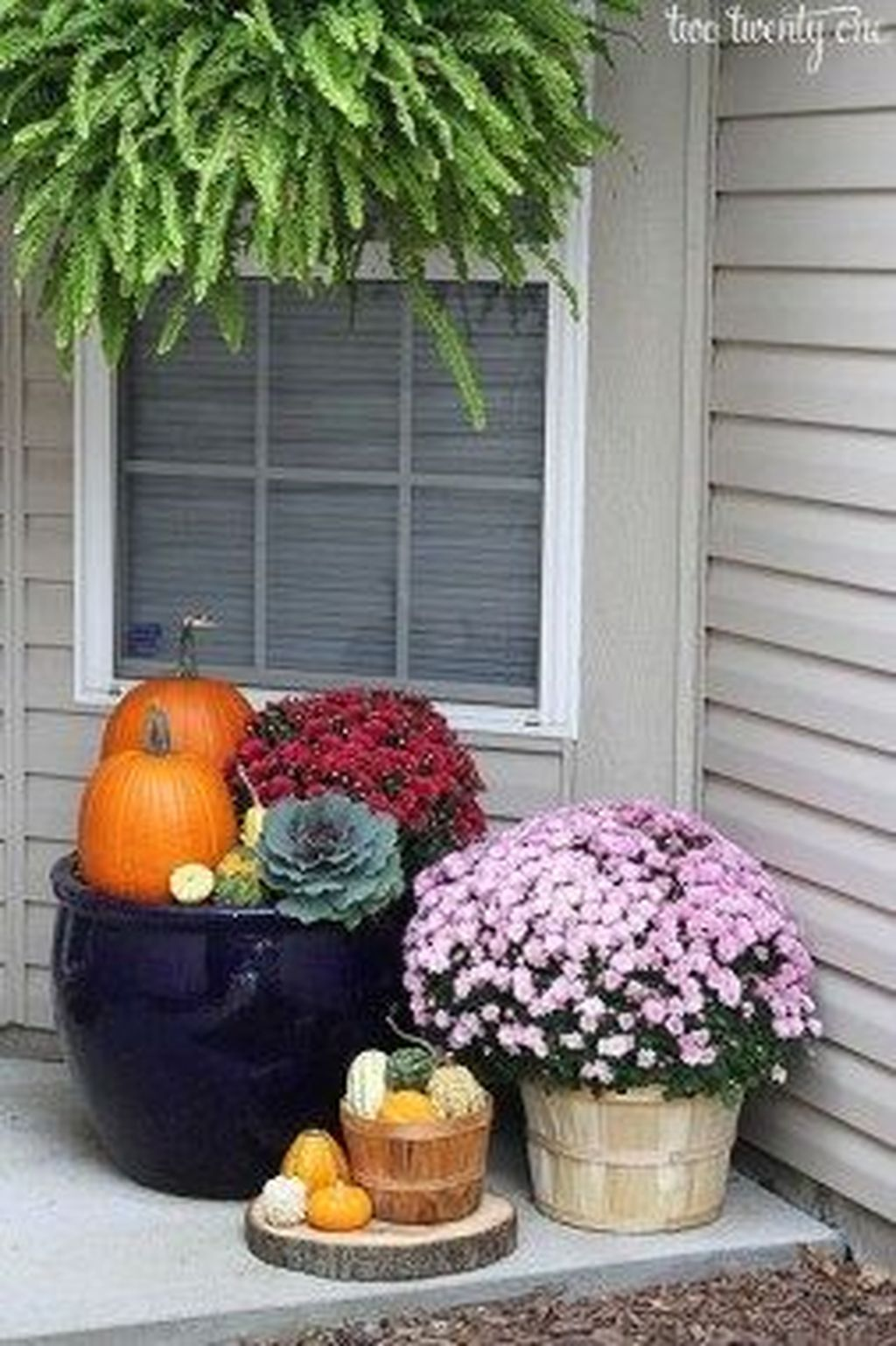 Amazing Fall Planter Ideas Best For Front Porches 25