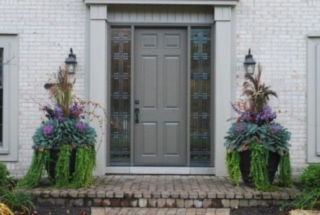 Amazing Fall Planter Ideas Best For Front Porches 32