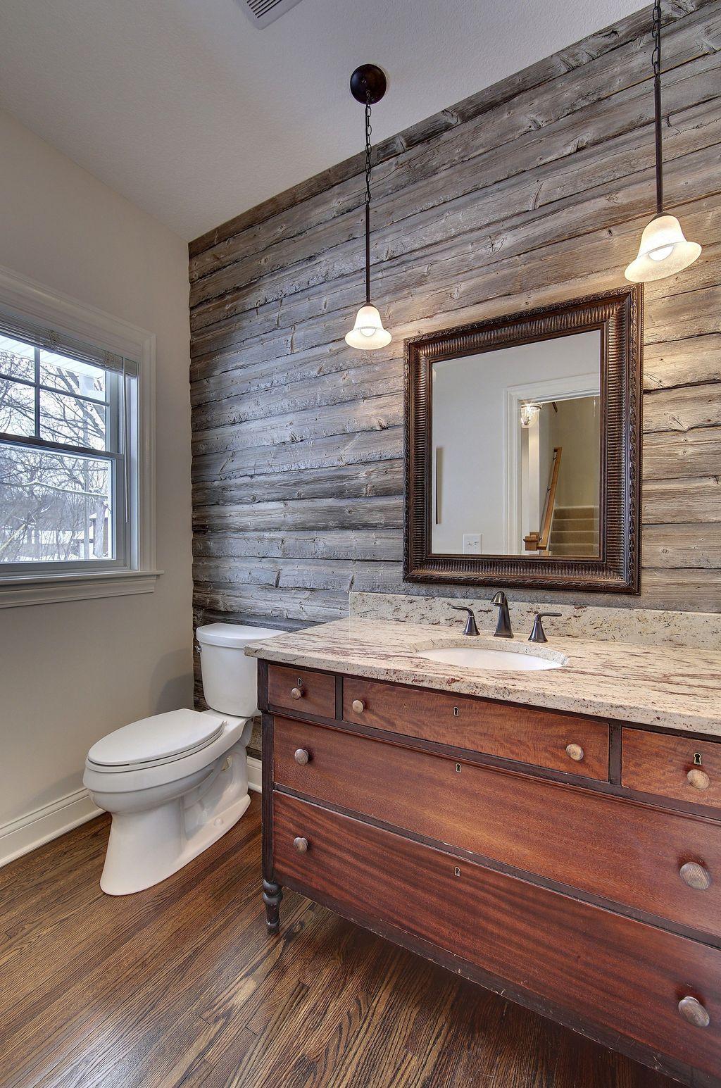Amazing Rustic Barn Bathroom Decor Ideas 23
