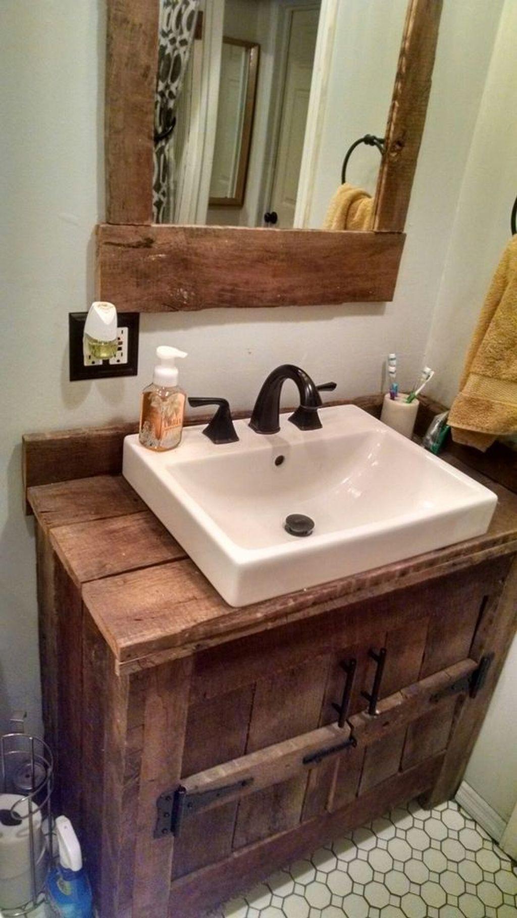 Amazing Rustic Barn Bathroom Decor Ideas 30