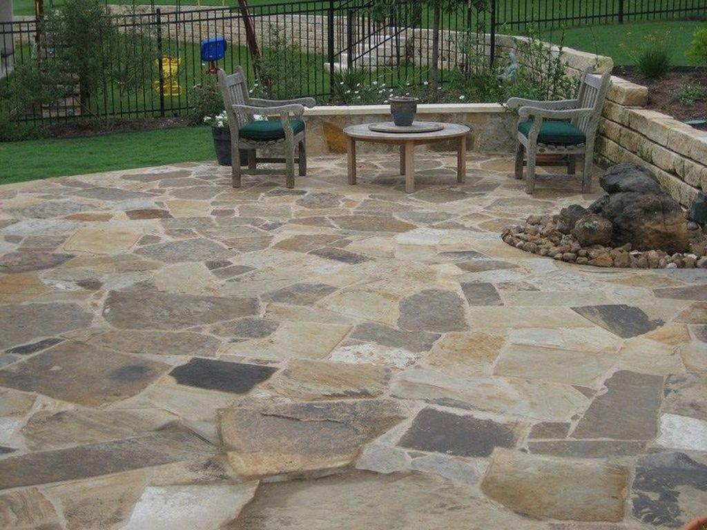 Awesome Flagstone Patio Design Ideas 22