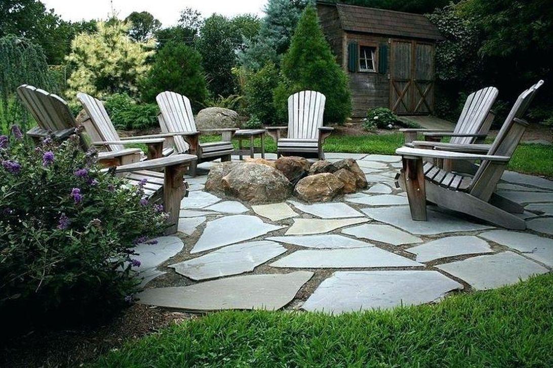 Awesome Flagstone Patio Design Ideas 34