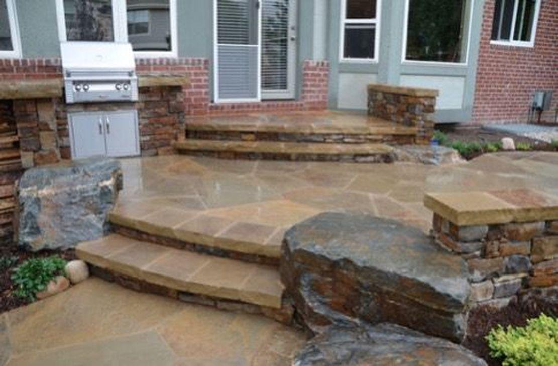 Awesome Flagstone Patio Design Ideas 36