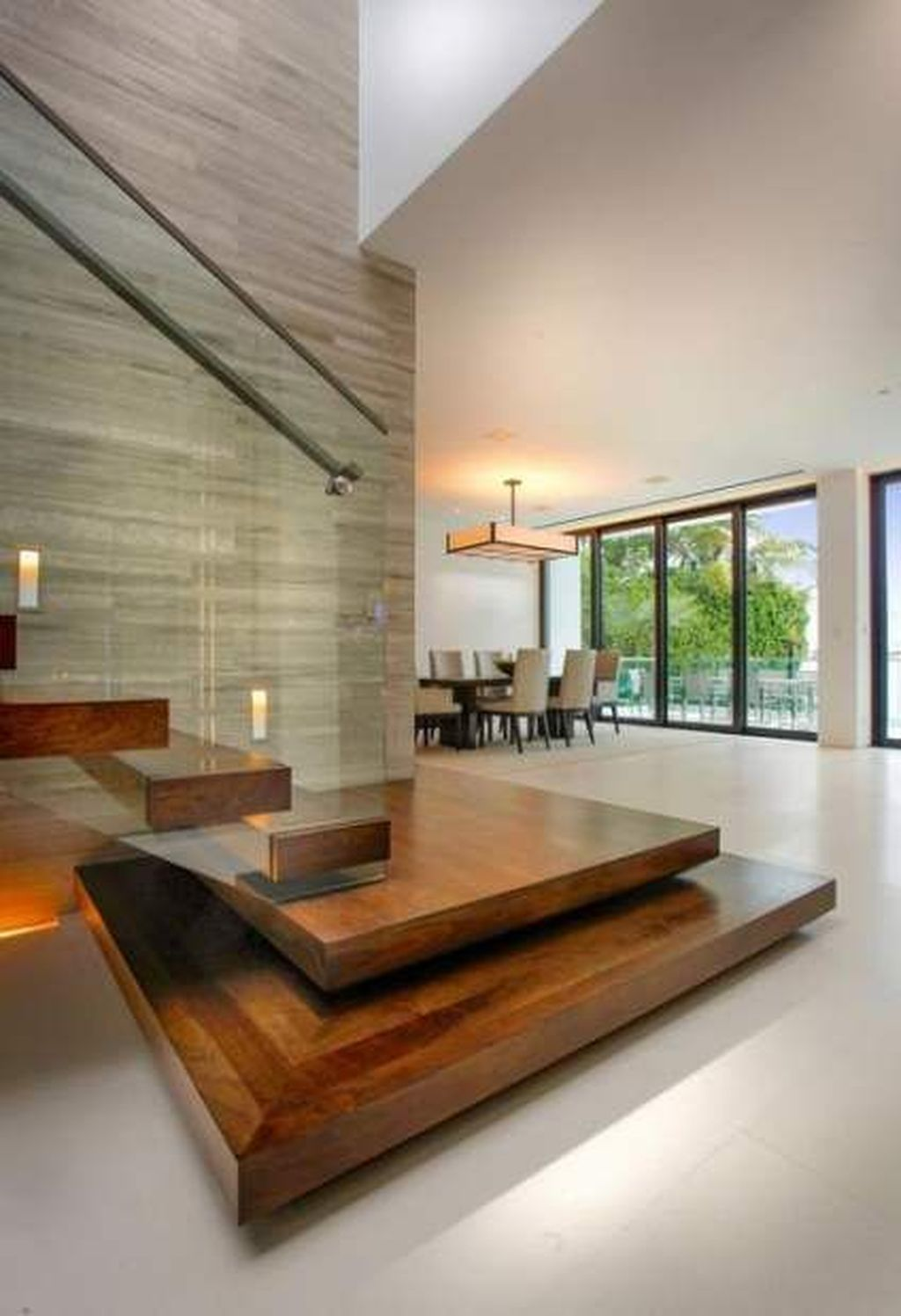 Awesome Modern Glass Railings Design Ideas For Stairs 05
