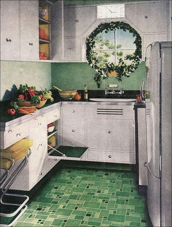 Awesome Retro Kitchen Design Ideas 12