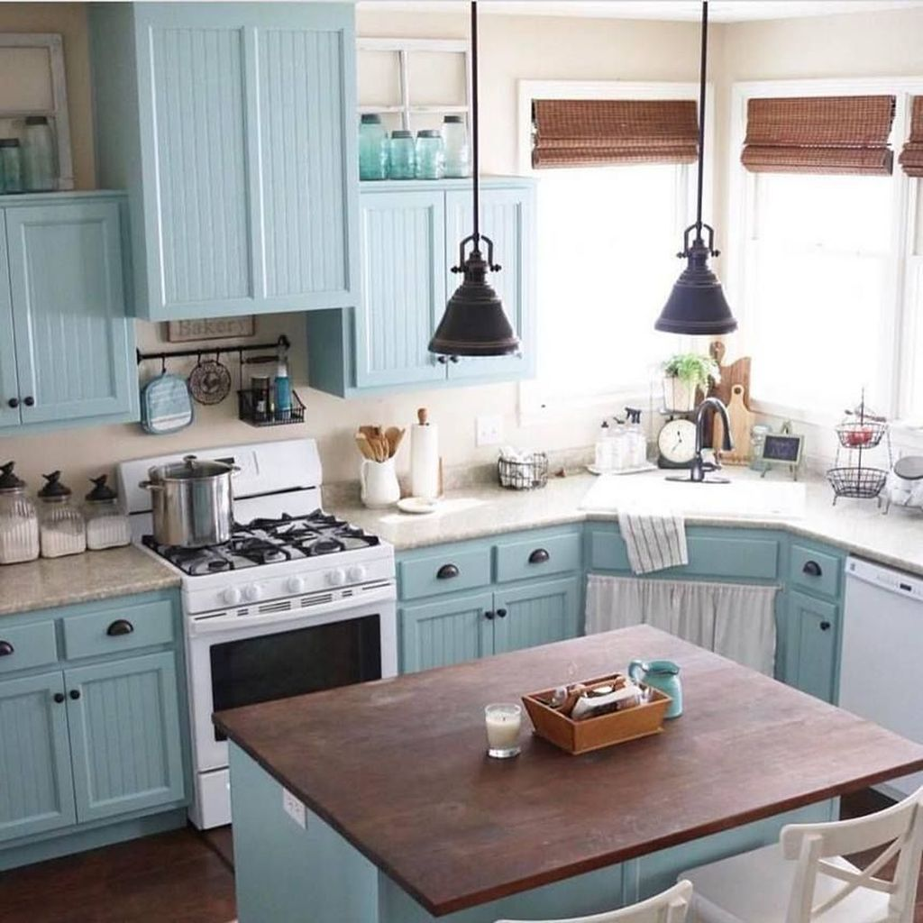 Awesome Retro Kitchen Design Ideas 21