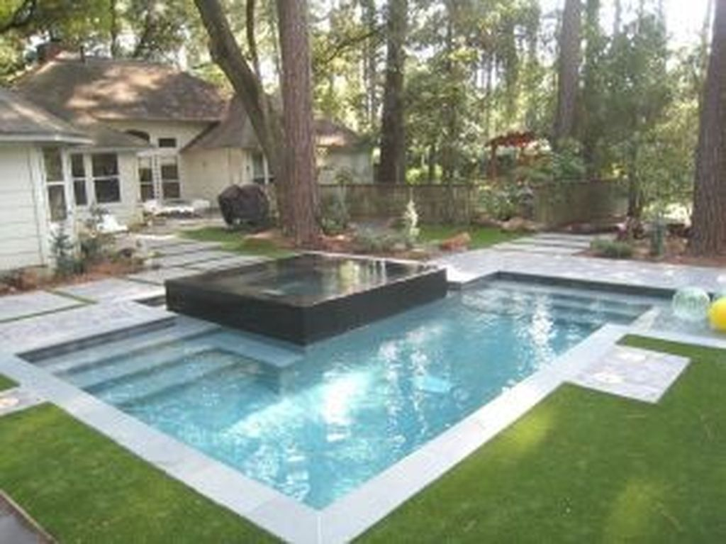Awesome Small Pools Design Ideas For Beautiful Backyard Landscape 09