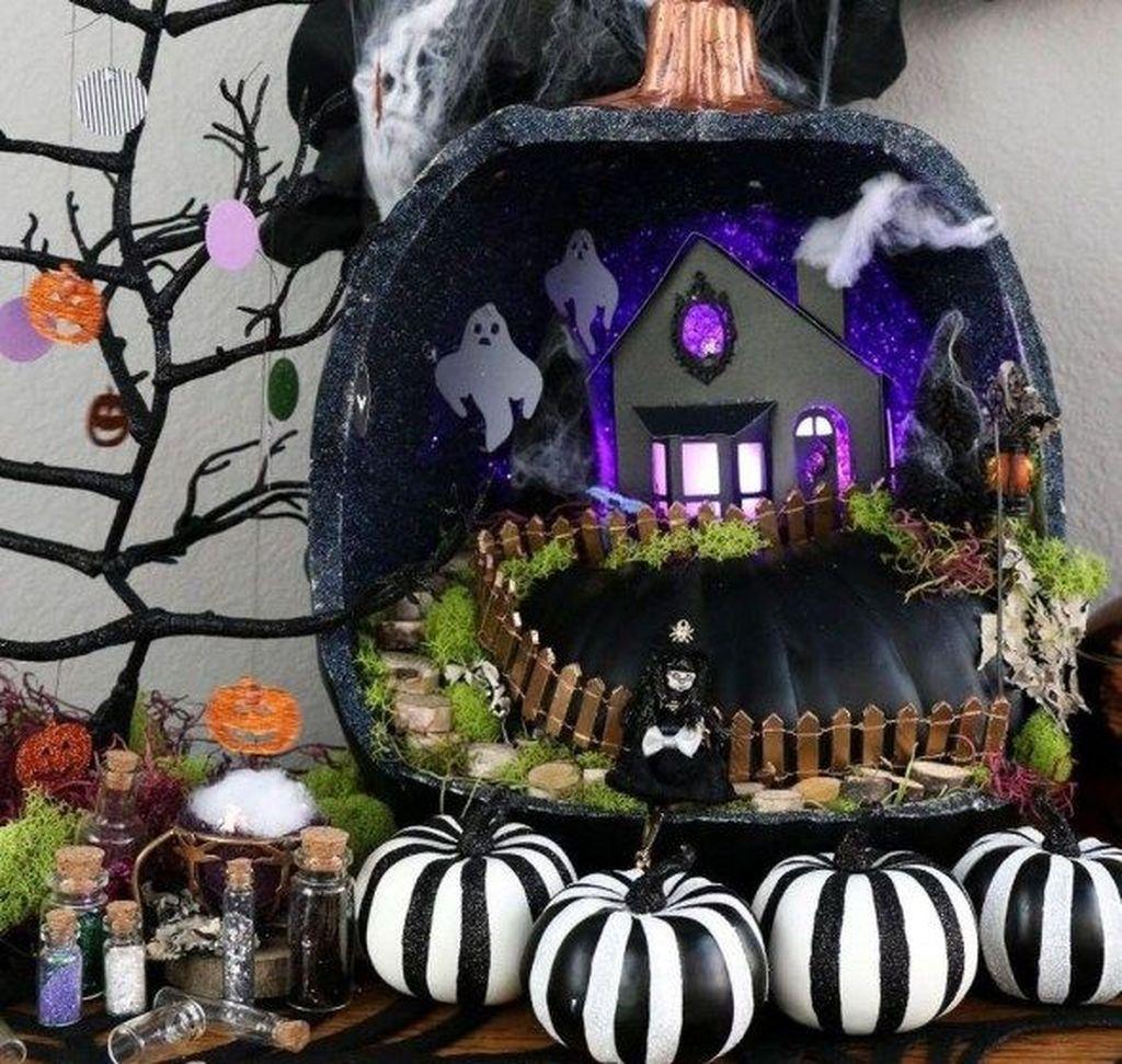 Beautiful Fall Fairy Garden Design Ideas 03
