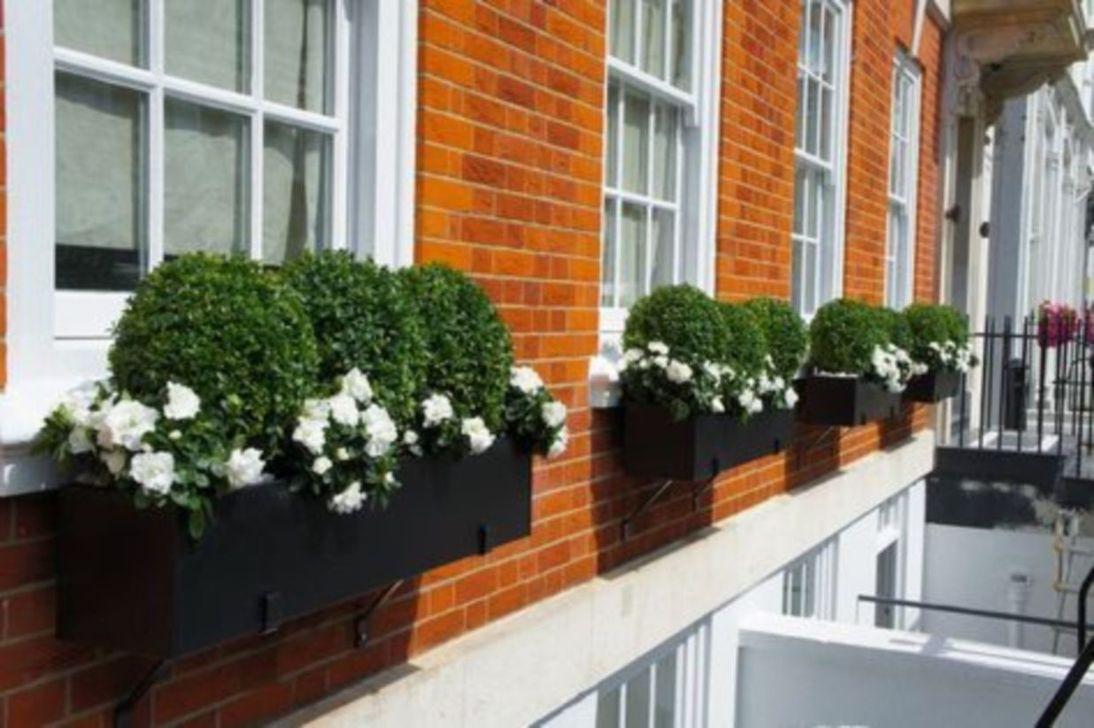 Beautiful Fall Window Boxes Design Ideas 02