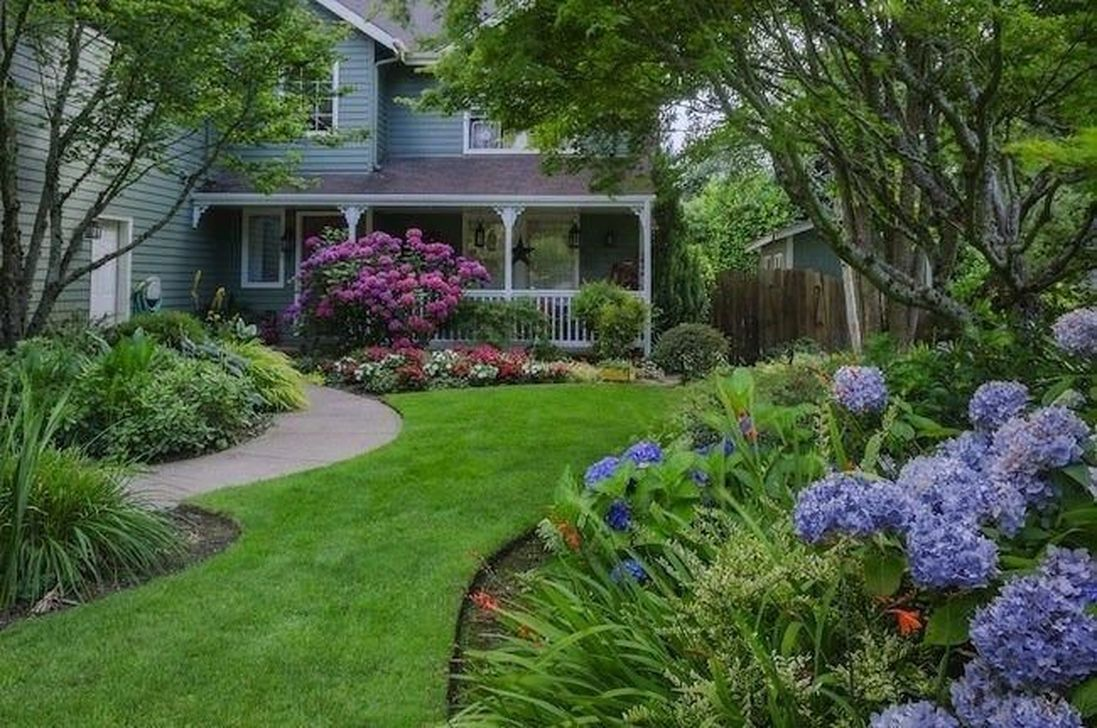 Beautiful Hydrangea Design Ideas Landscaping Your Front Yard 08