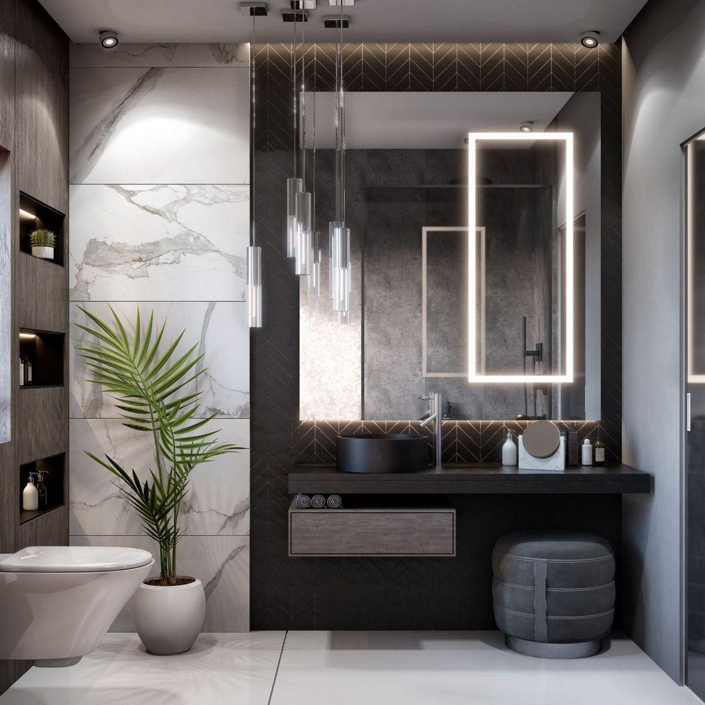 Beautiful Master Bathroom Design Ideas 07