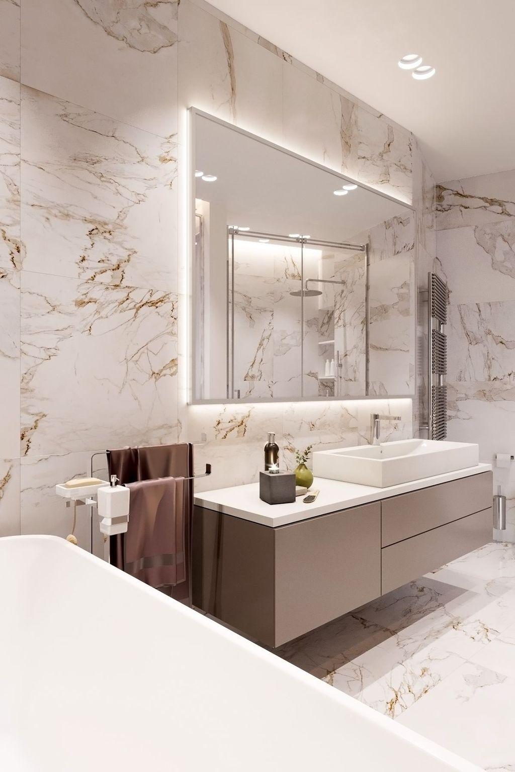 Beautiful Master Bathroom Design Ideas 14