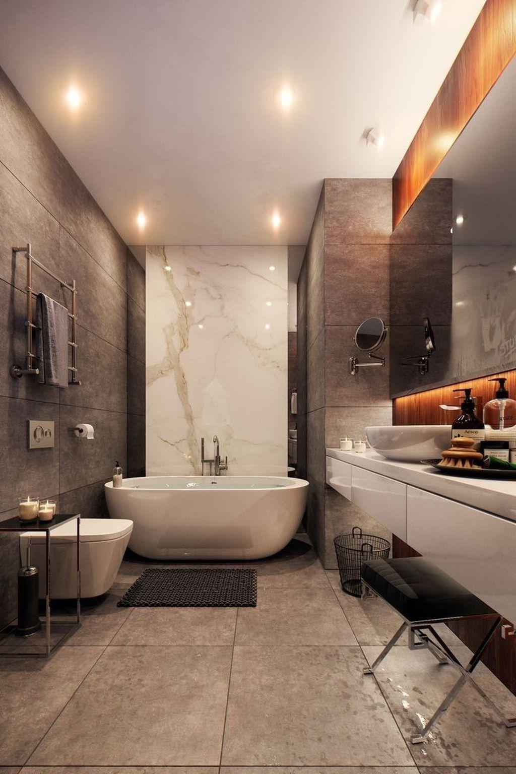 Beautiful Master Bathroom Design Ideas 24