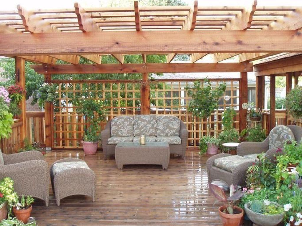 Fabulous Backyard Design Ideas With Western Style 01