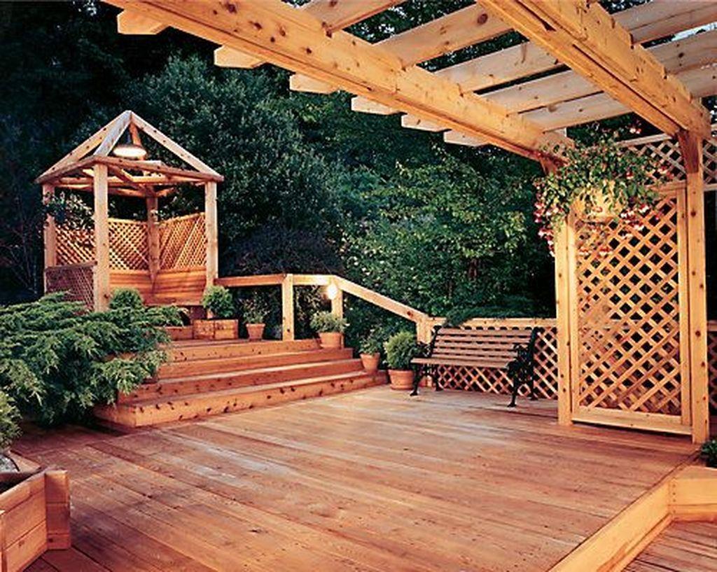 Fabulous Backyard Design Ideas With Western Style 05
