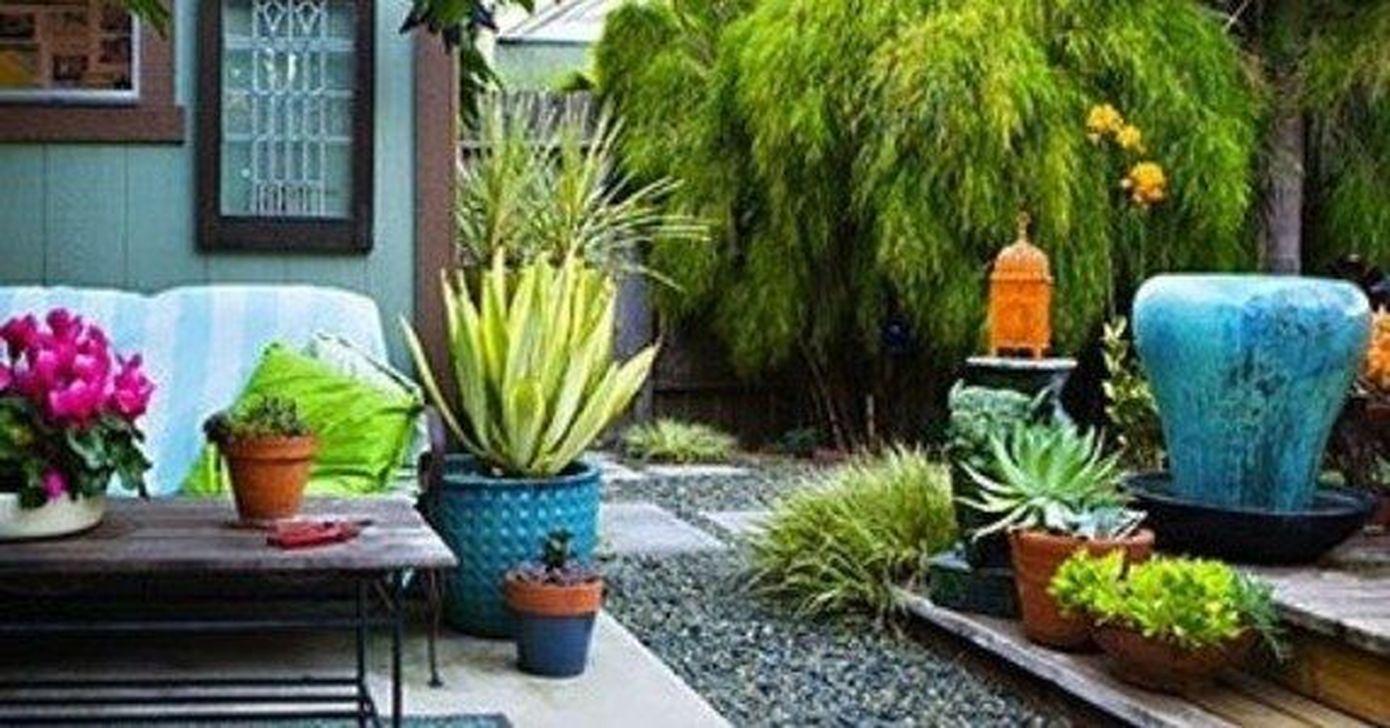 Fabulous Backyard Design Ideas With Western Style 30