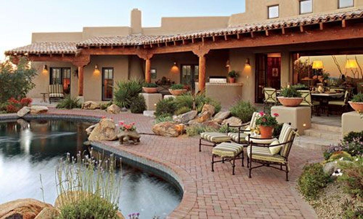 Fabulous Backyard Design Ideas With Western Style 31
