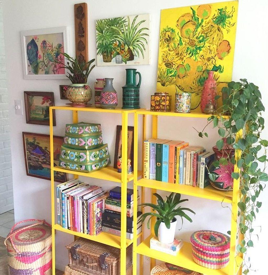 Fabulous Colorful Apartment Decor Ideas 21