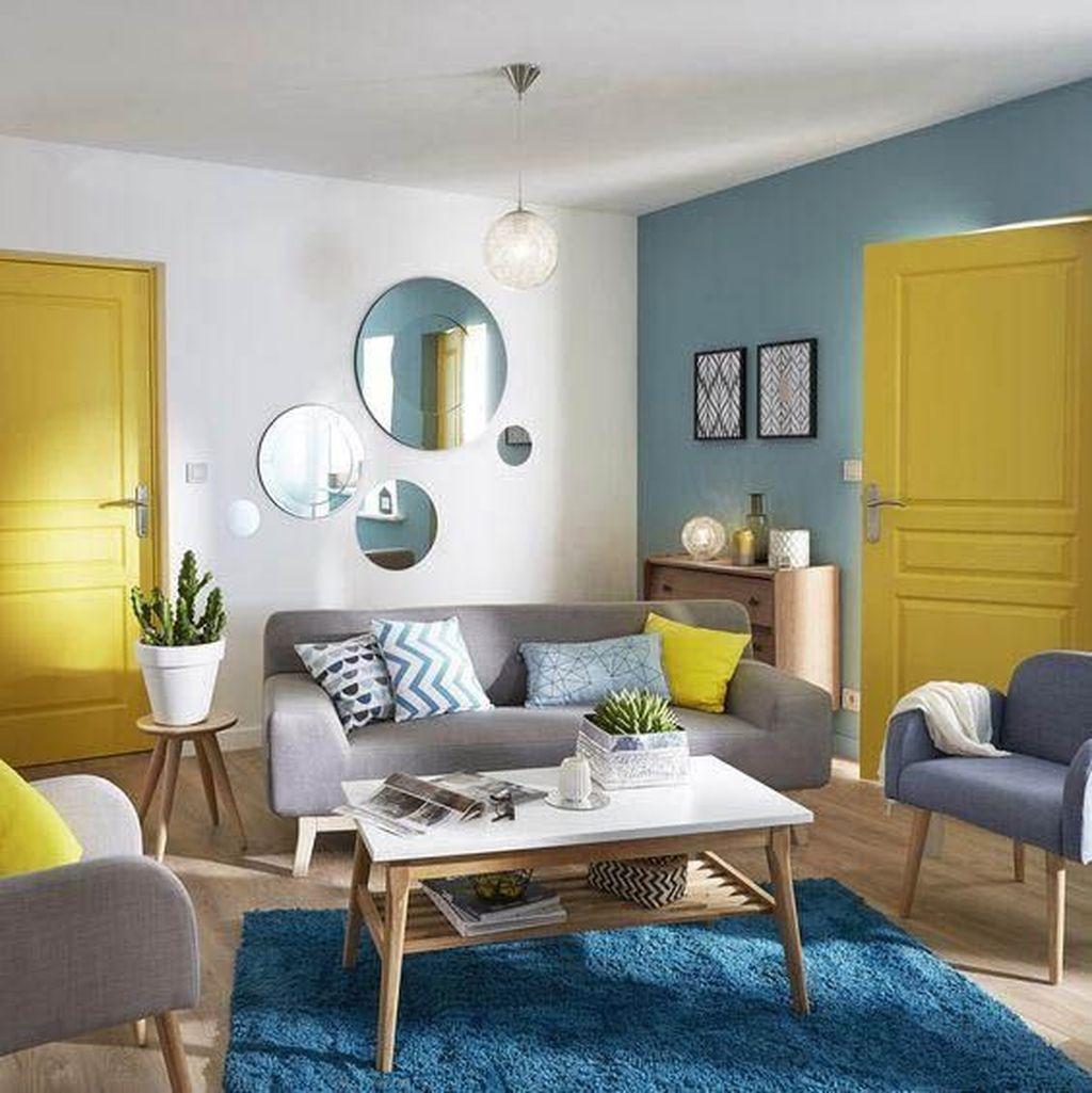 Fabulous Summer Living Room Decor Ideas 15
