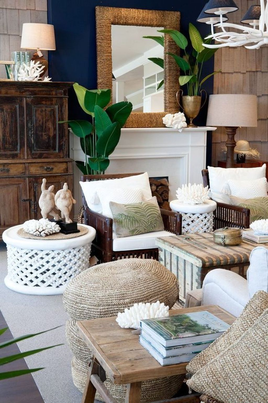Fabulous Summer Living Room Decor Ideas 25