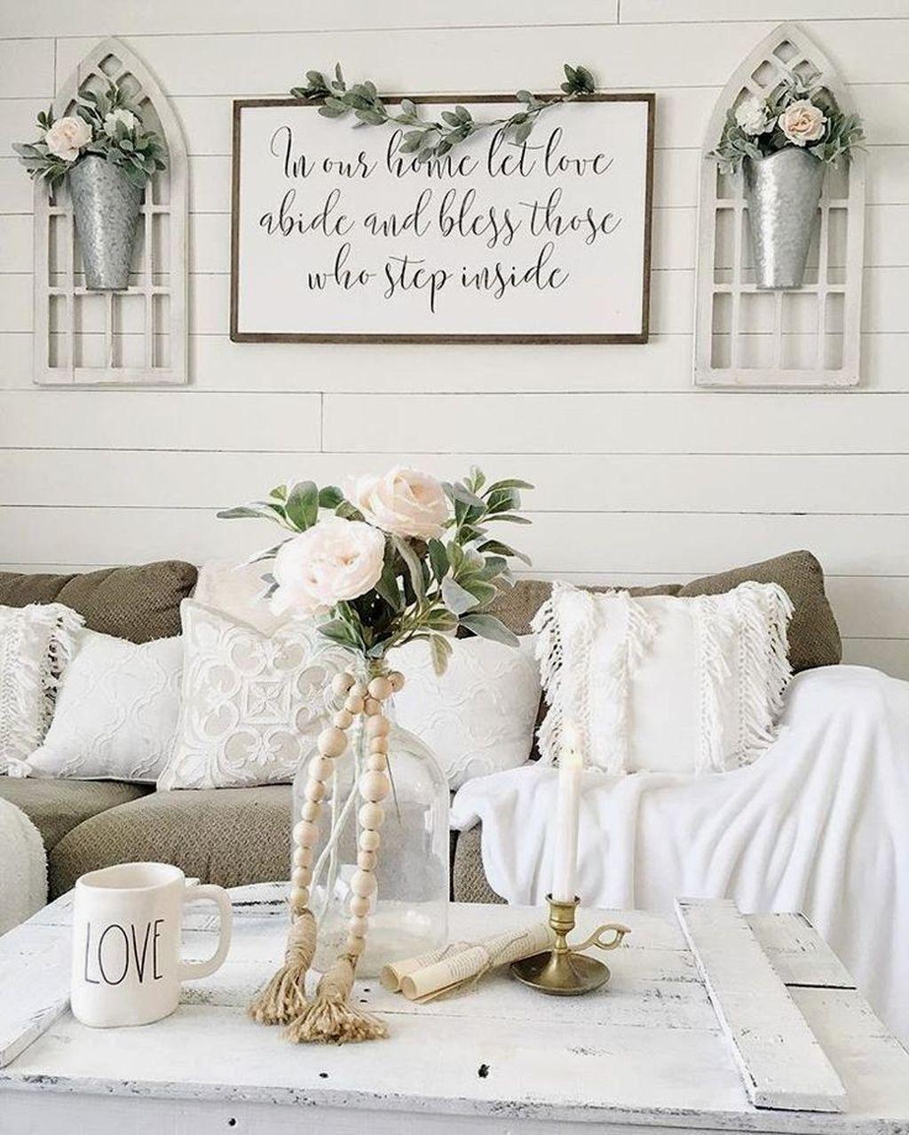 Fabulous Summer Living Room Decor Ideas 35