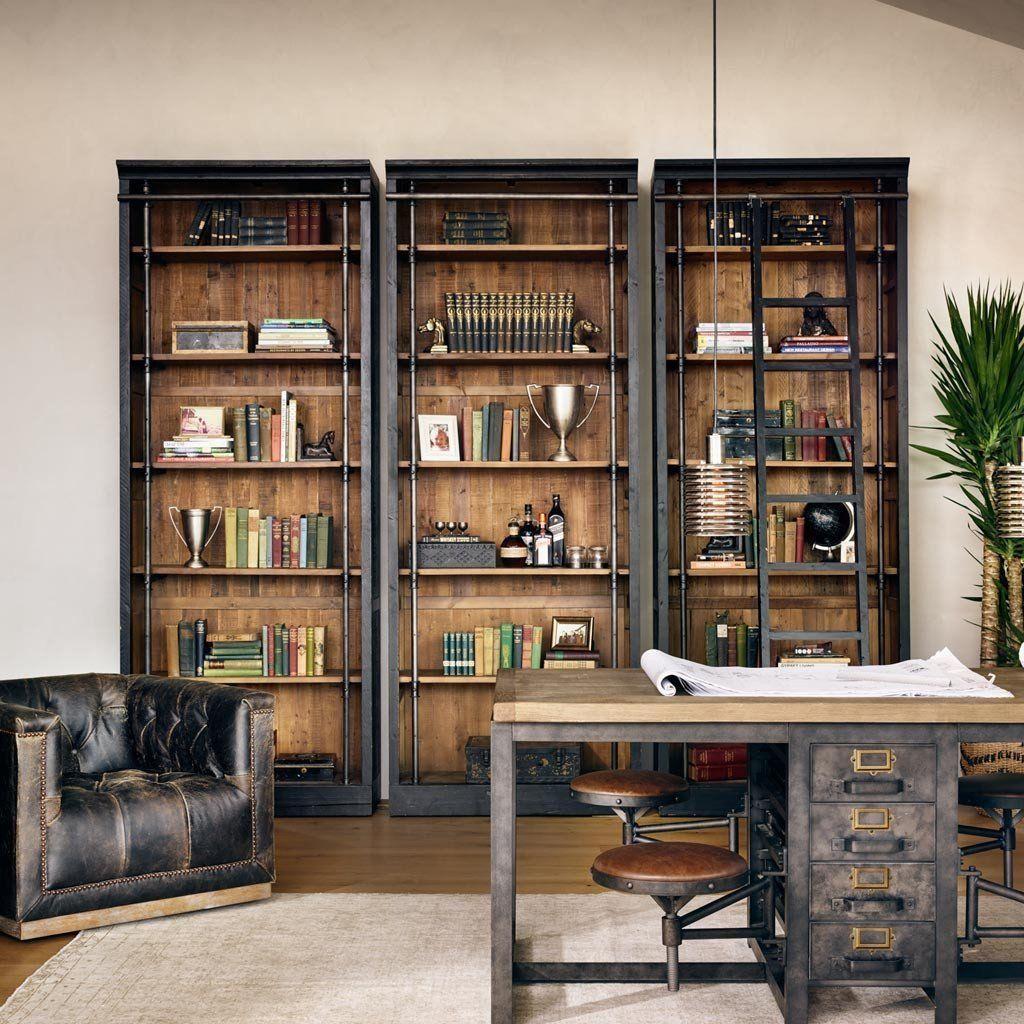 Gorgeous Rustic Office Decor Ideas 06