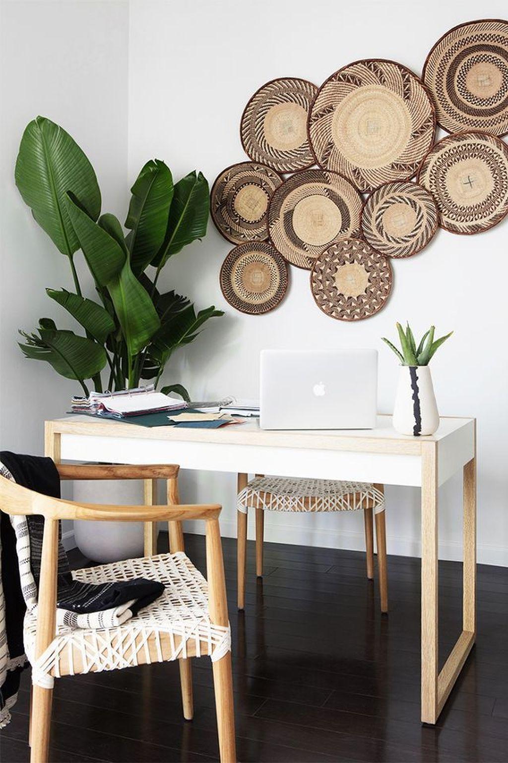 Gorgeous Rustic Office Decor Ideas 15