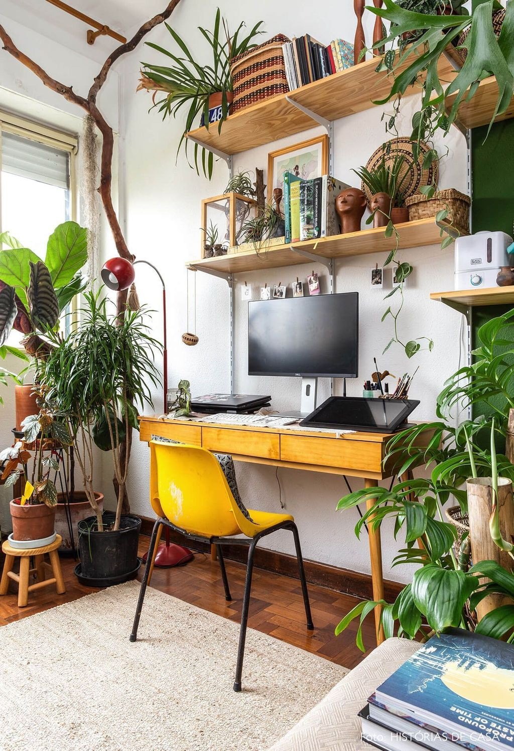 Gorgeous Rustic Office Decor Ideas 24