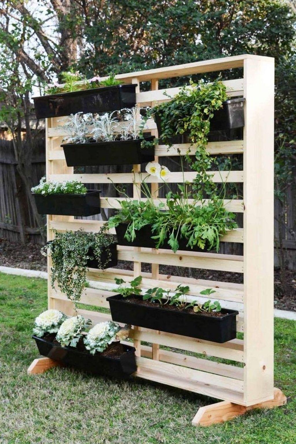 Gorgeous Vertical Garden Ideas Wall Decor 08