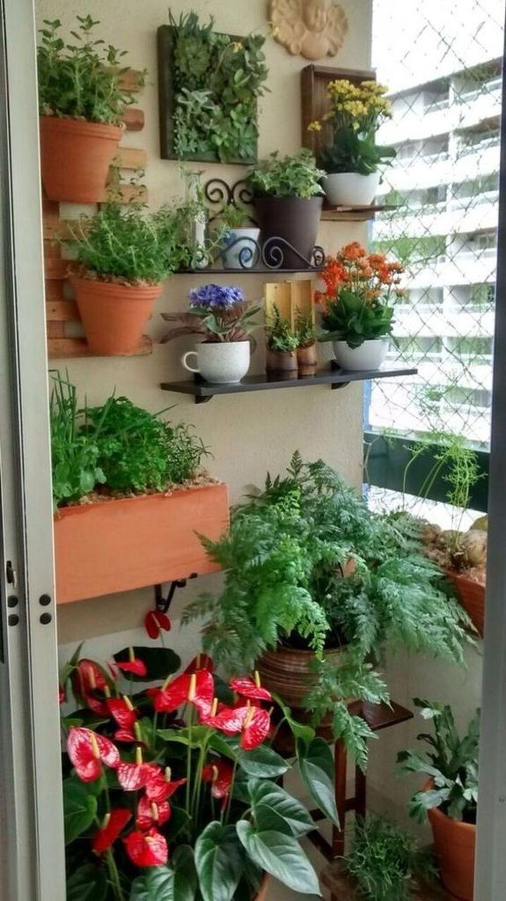 Gorgeous Vertical Garden Ideas Wall Decor 18