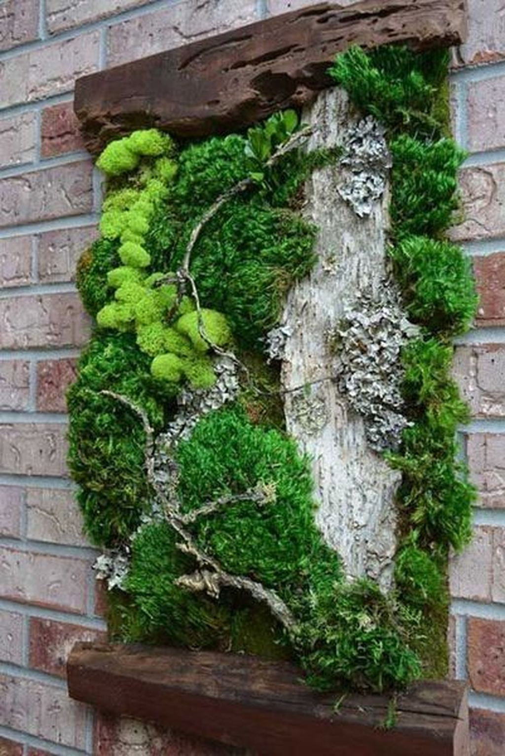 Gorgeous Vertical Garden Ideas Wall Decor 29