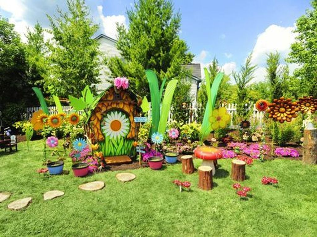 Incredible Magical Backyard Design Ideas For Your Kids 29