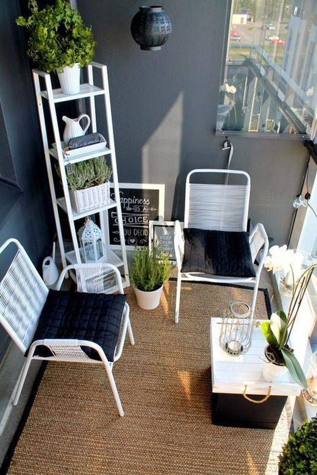 Incredible Patio Balcony Design Ideas 31