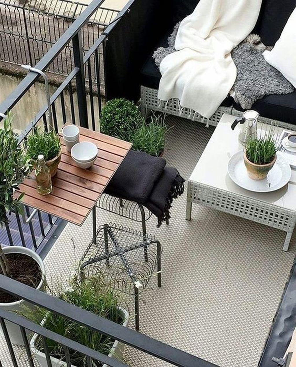 Incredible Patio Balcony Design Ideas 32