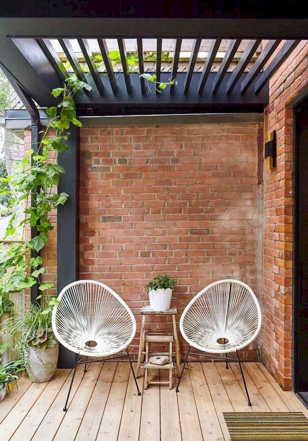 Incredible Patio Balcony Design Ideas 33