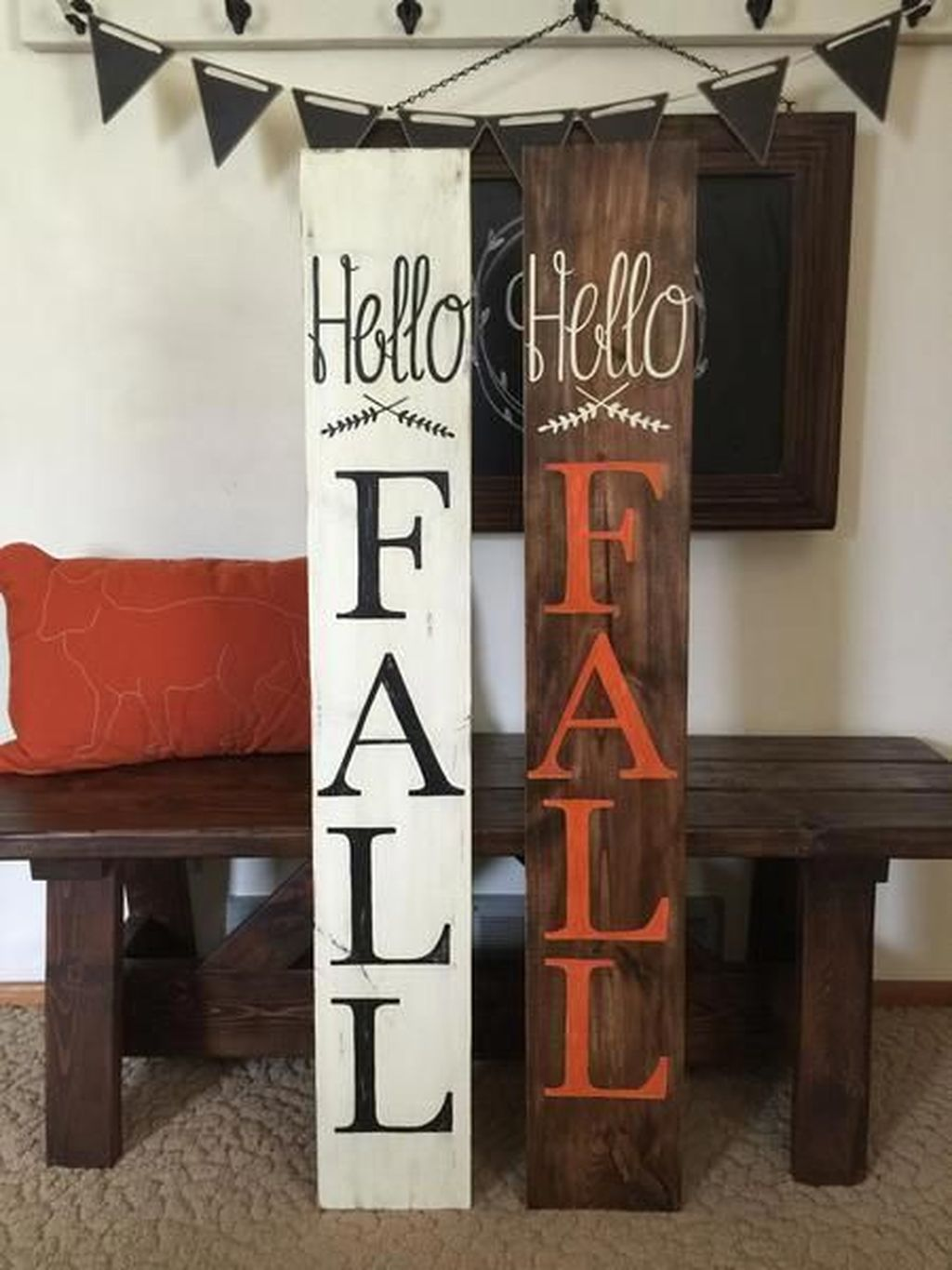 Inspiring Fall Pallet Signs Design Ideas For Your Home Decor 24