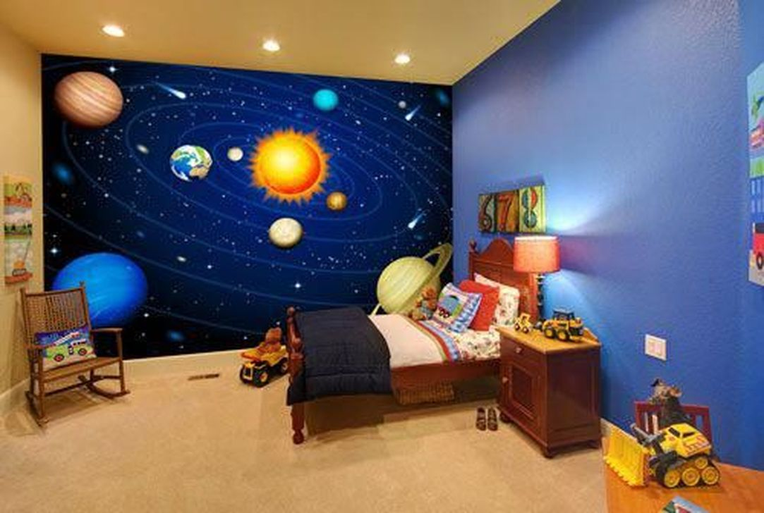 Inspiring Outer Space Bedroom Decor Ideas 04