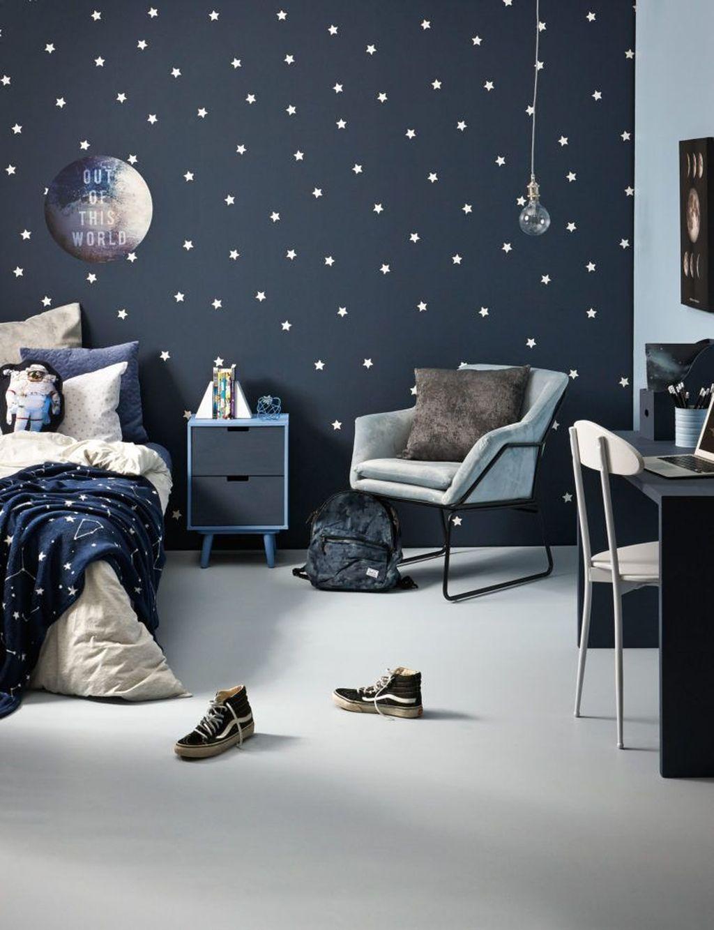 Inspiring Outer Space Bedroom Decor Ideas 11